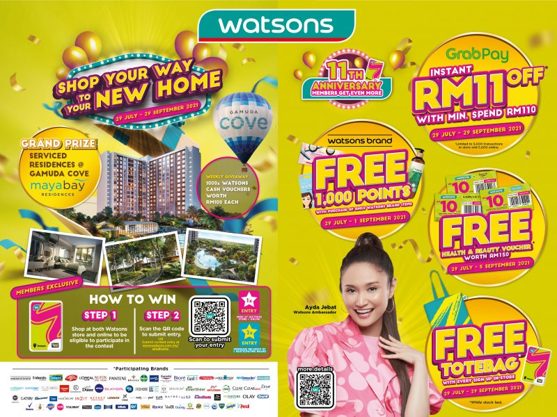 Peraduan Shop Your Way to Your New Home Watsons